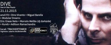 Show do Dive + Lançamento do CD do Anvil FX ao vivo em SãoPaulo